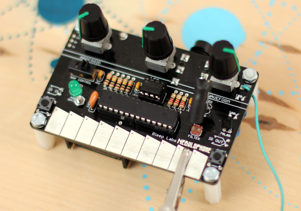 The Nebulophone : An Open Source Arduino Based Synthesizer