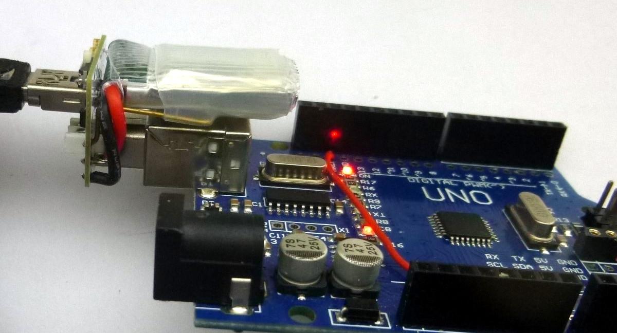 Tindie arduino uno mini usb adapter also a lipo
