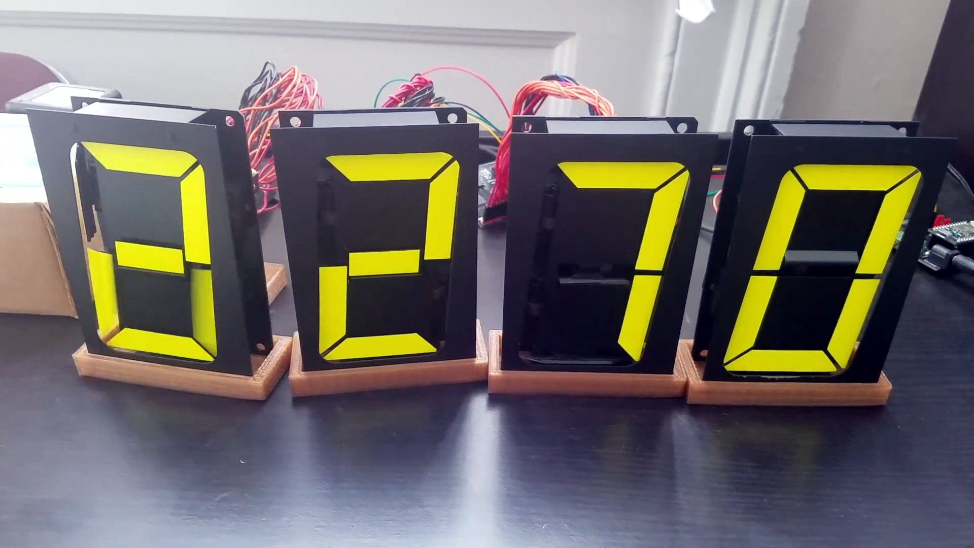 Used Drones For Sale >> Tindie Blog   Mechanical 7-Segment Display Controller