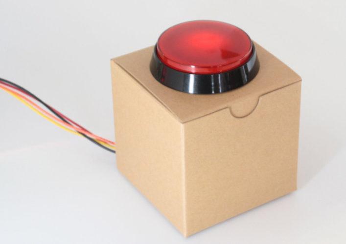 Blog do Tindie | Kit de botão vermelho grande 1