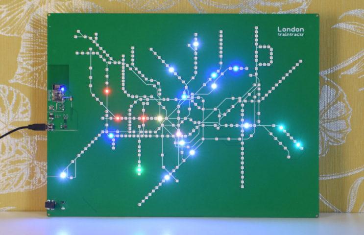 Blog do Tindie   London Underground Train Tracker 1