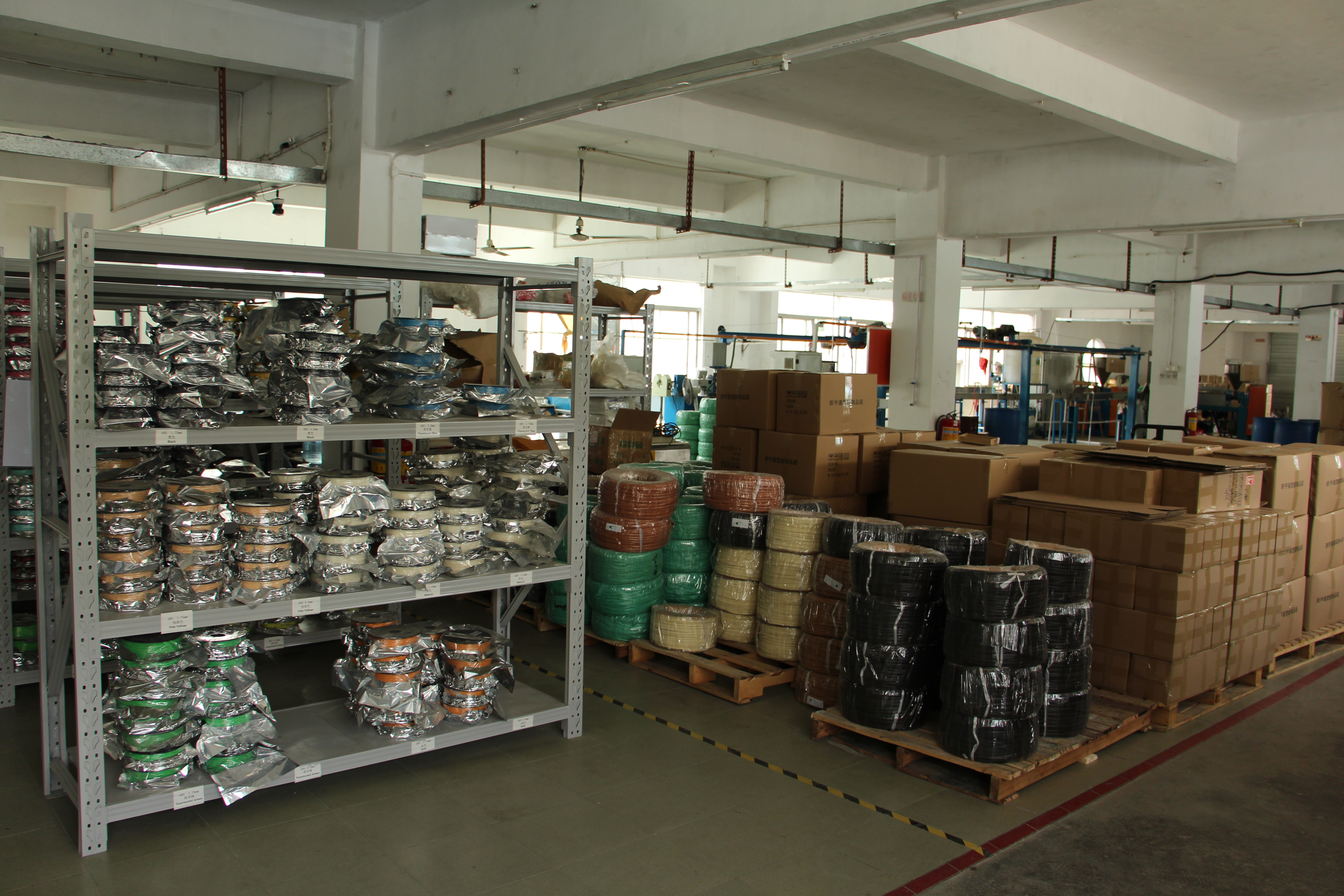 3D Filament Factory in Shenzhen