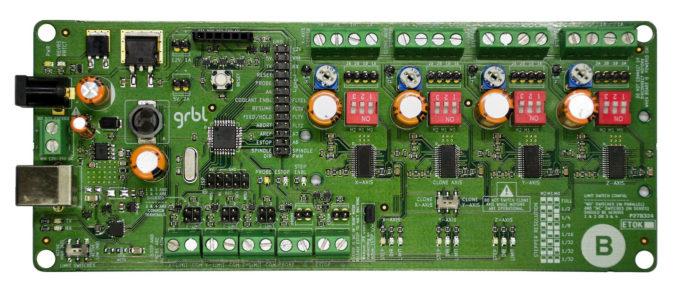4-Axis Arduino GRBL CNC Shield - HudsonWerks